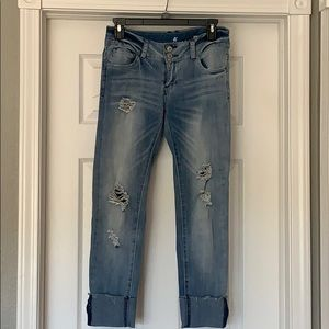 Almost Famous ankle jeans